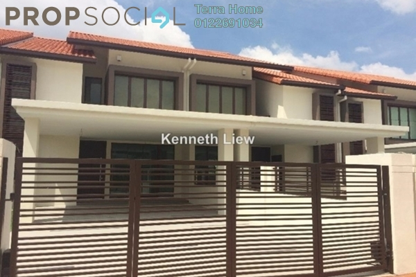 For Sale Terrace at Temasya Sinar, Temasya Glenmarie Freehold Unfurnished 4R/5B 1.8m