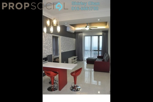 For Rent Condominium at Tropicana City Tropics, Petaling Jaya Freehold Fully Furnished 2R/2B 2.5k