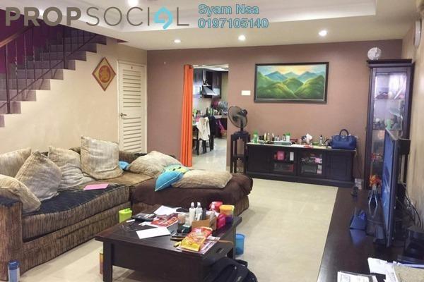 For Sale Terrace at Section 1, Bandar Mahkota Cheras Freehold Semi Furnished 4R/3B 610k