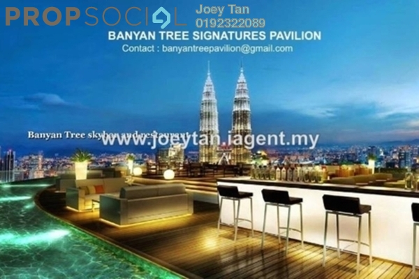 For Sale Condominium at Banyan Tree, KLCC Freehold Semi Furnished 2R/2B 3m