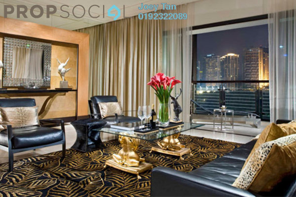 For Sale Condominium at The Binjai On The Park, KLCC Freehold Semi Furnished 3R/5B 9.42m