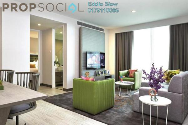 For Sale Serviced Residence at The Edge Residen, Subang Jaya Leasehold Semi Furnished 2R/2B 480k