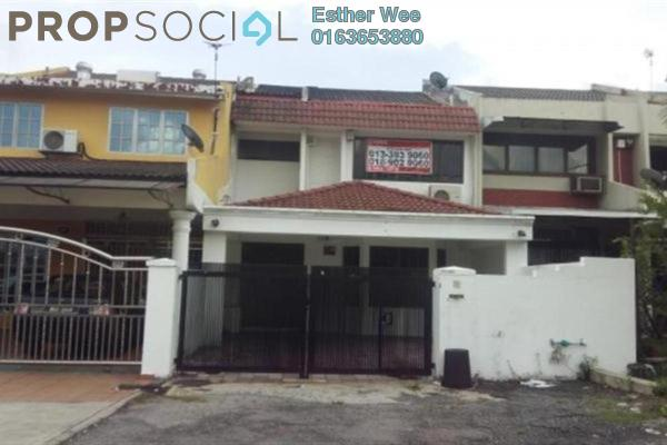 For Sale Terrace at SS18, Subang Jaya Freehold Semi Furnished 4R/3B 930k
