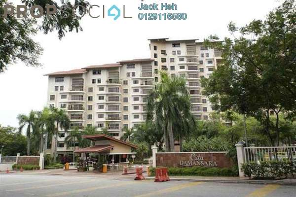 For Sale Condominium at Cita Damansara, Sunway Damansara Leasehold Semi Furnished 3R/2B 675k