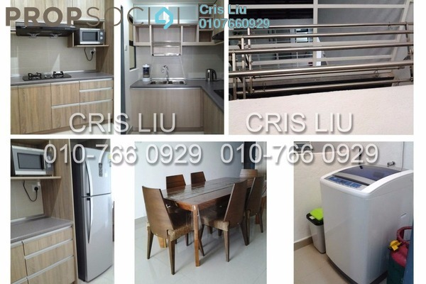 For Rent Serviced Residence at Amaya Maluri, Cheras Leasehold Fully Furnished 2R/2B 2.6k
