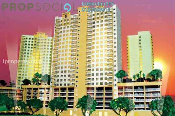 For Rent Condominium at Kuchai Avenue, Kuchai Lama Freehold Semi Furnished 3R/2B 1.73k