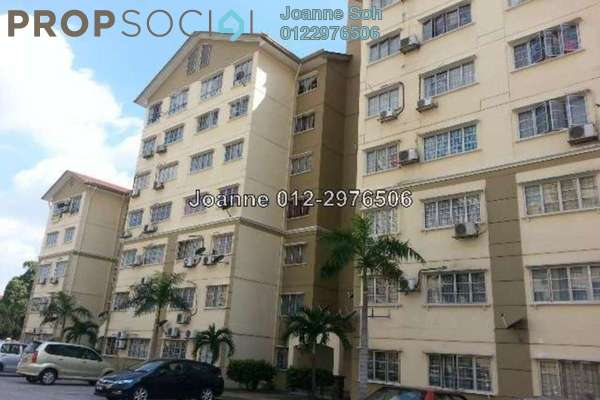 For Sale Apartment at Starville, UEP Subang Jaya Freehold Semi Furnished 3R/2B 380k