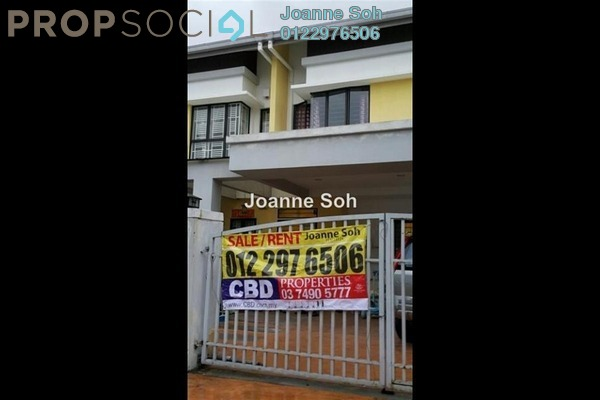 For Sale Terrace at Sutera Damansara, Damansara Damai Leasehold Semi Furnished 4R/4B 799k
