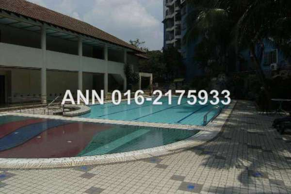 For Sale Condominium at Union Heights, Old Klang Road Leasehold Fully Furnished 2R/2B 468k