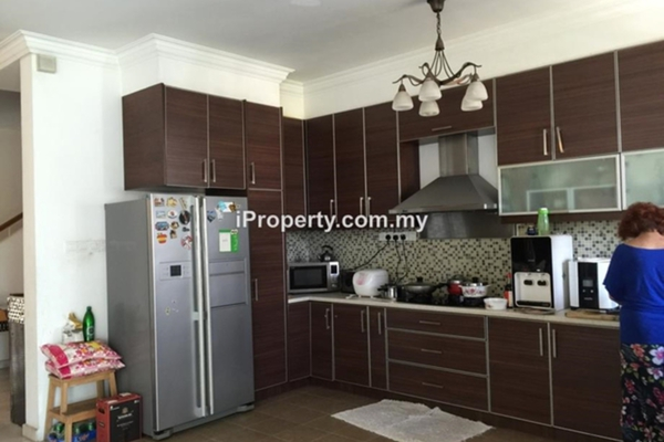 For Sale Terrace at Taman Esplanad, Bukit Jalil Freehold Fully Furnished 5R/3B 1.85m
