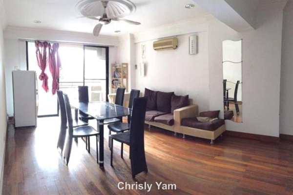 For Sale Condominium at Vista Komanwel, Bukit Jalil Leasehold Fully Furnished 3R/3B 580k
