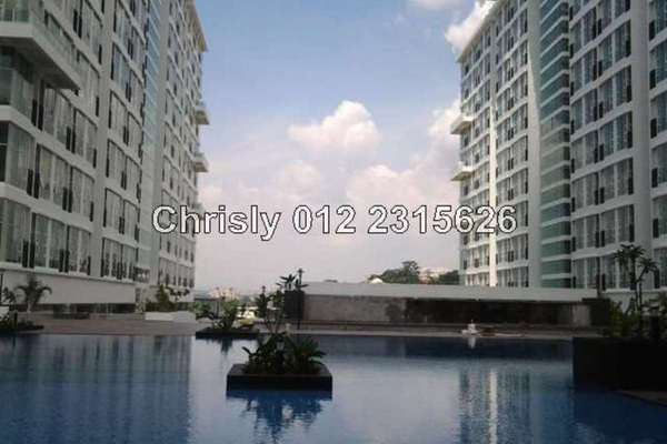 For Rent Condominium at The Scott Garden, Old Klang Road Leasehold Semi Furnished 1R/2B 1.5k