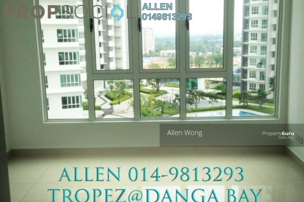 For Sale Serviced Residence at Tropez Residences, Danga Bay Freehold Semi Furnished 1R/1B 440k