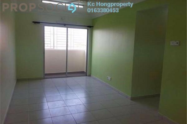 For Rent Apartment at Bukit Manda'rina, Cheras Leasehold Unfurnished 3R/2B 1k
