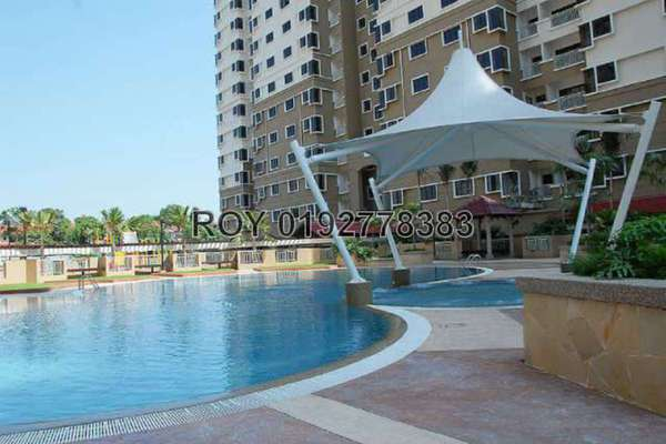 For Sale Condominium at Pelangi Utama, Bandar Utama Leasehold Fully Furnished 3R/2B 650k