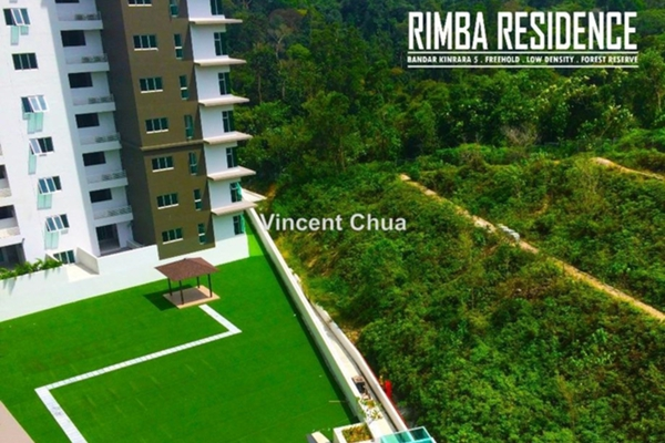 For Sale Condominium at Rimba Residence, Bandar Kinrara Leasehold Unfurnished 3R/2B 688k