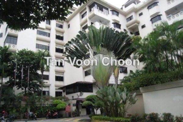 For Sale Condominium at Belvedere, Kenny Hills Leasehold Semi Furnished 3R/4B 1.38m