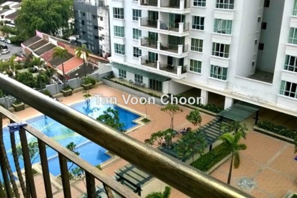 For Sale Condominium at Ken Damansara II, Petaling Jaya Leasehold Fully Furnished 3R/2B 960k