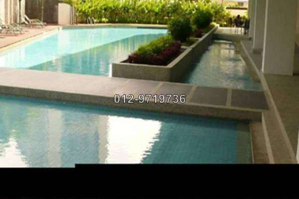 For Rent Condominium at Idaman Residence, KLCC Leasehold Unfurnished 2R/2B 3.5k