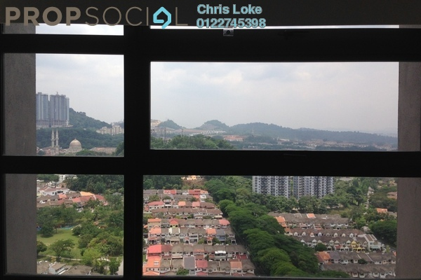 For Sale Condominium at Azelia Residence, Bandar Sri Damansara Freehold Semi Furnished 3R/4B 1.25m