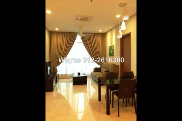For Rent Condominium at Soho Suites, KLCC Leasehold Unfurnished 1R/1B 3k