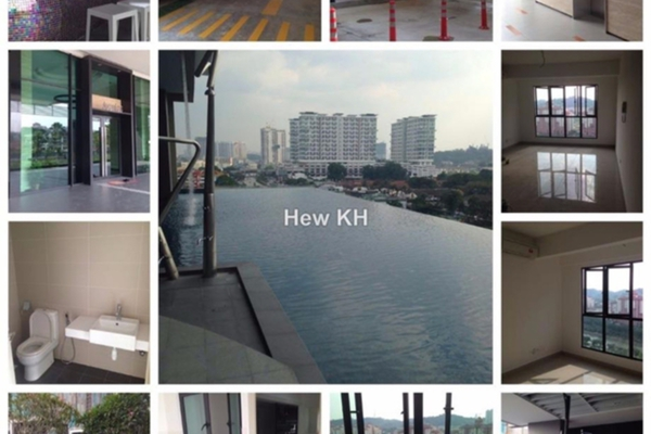 For Rent Condominium at Avantas Residences, Old Klang Road Freehold Semi Furnished 1R/1B 1.38k