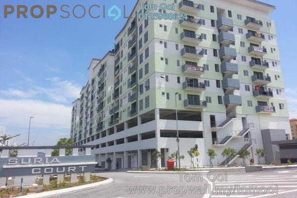 For Rent Condominium at Suria Court, Bandar Mahkota Cheras Freehold Unfurnished 3R/2B 950translationmissing:en.pricing.unit