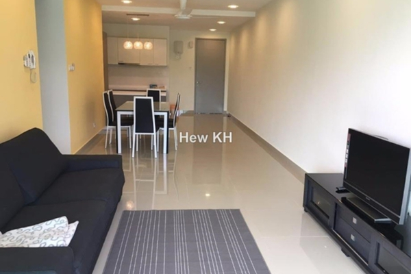 For Rent Condominium at Kiara Residence 2, Bukit Jalil Leasehold Fully Furnished 3R/3B 2.38k