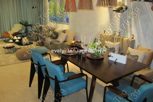 For Sale Condominium at DC Residency, Damansara Heights Freehold Unfurnished 1R/1B 1.5m