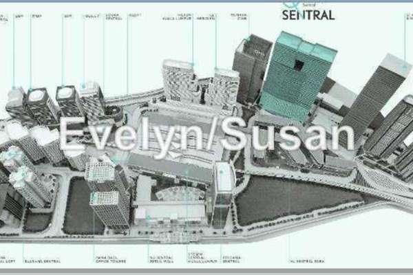 For Rent Office at Q Sentral, KL Sentral Leasehold Unfurnished 0R/0B 12k