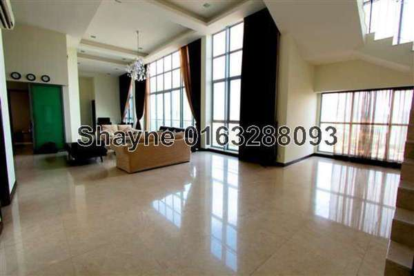 For Rent Condominium at Hampshire Residences, KLCC Leasehold Unfurnished 4R/6B 18k