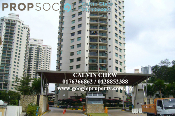 For Rent Condominium at Changkat View, Dutamas Freehold Unfurnished 3R/2B 1.7k