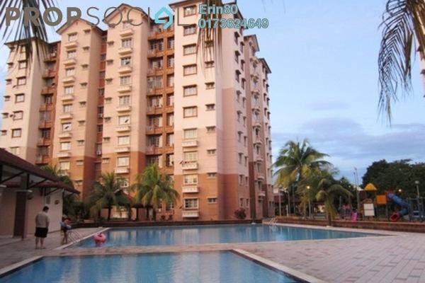 For Sale Condominium at Elaeis 2, Bukit Jelutong Freehold Semi Furnished 3R/2B 400k