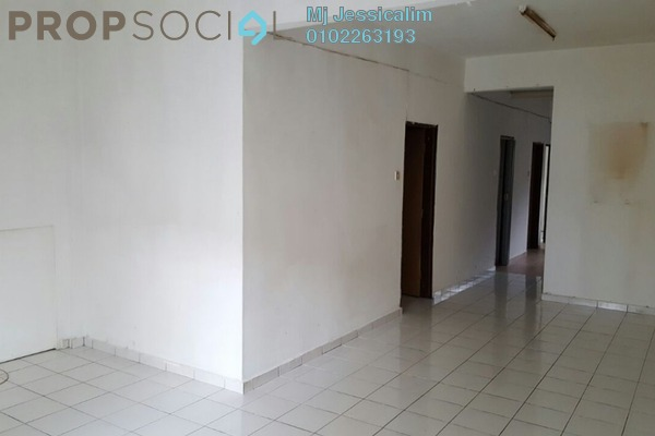 For Sale Townhouse at Taman Wangsa Permai, Kepong Leasehold Semi Furnished 3R/2B 388k