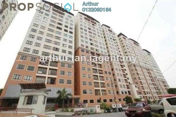 For Sale Condominium at Glen View Villa, Cheras Leasehold Semi Furnished 3R/2B 380k