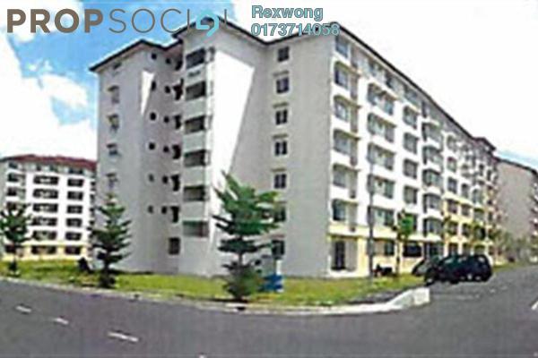 For Sale Apartment at Taman Topaz, Dengkil Freehold Semi Furnished 3R/2B 72k