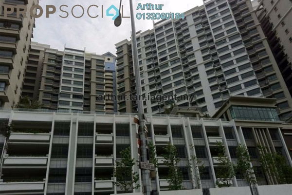 For Sale Condominium at Covillea, Bukit Jalil Freehold Fully Furnished 3R/3B 870k