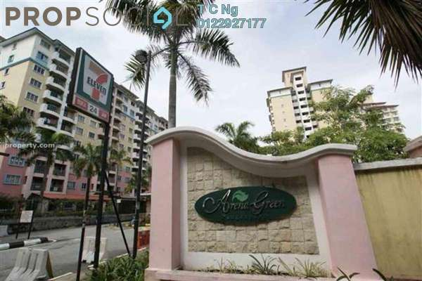 For Rent Condominium at Arena Green, Bukit Jalil Freehold Semi Furnished 2R/2B 1.1k