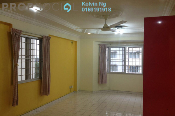 For Rent Apartment at Aman Satu, Kepong Freehold Semi Furnished 3R/2B 900translationmissing:en.pricing.unit