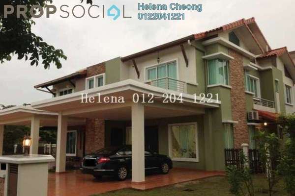 For Rent Semi-Detached at Setia Eco Park, Setia Alam Freehold Fully Furnished 4R/5B 4.5k