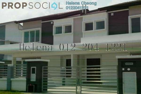 For Rent Semi-Detached at Setia Impian, Setia Alam Freehold Unfurnished 4R/4B 2.4k