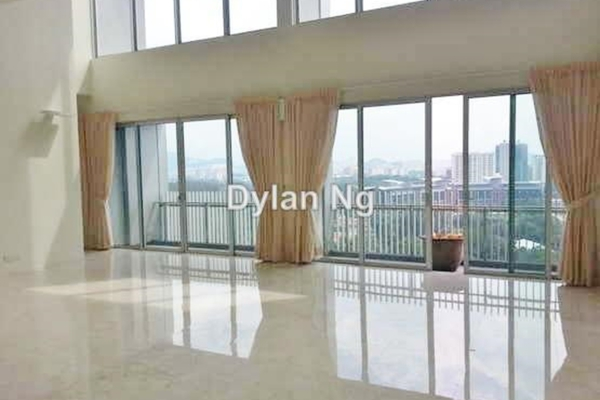 For Sale Duplex at Dua Residency, KLCC Leasehold Semi Furnished 4R/5B 3.35m