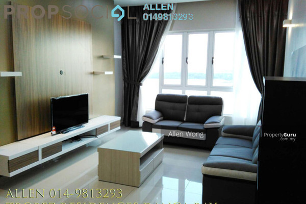For Rent Serviced Residence at Tropez Residences, Danga Bay Freehold Fully Furnished 3R/2B 2.8k