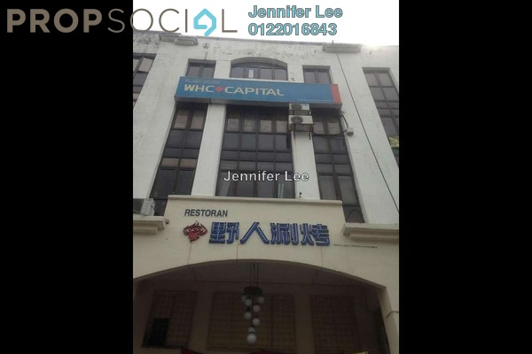 For Rent Office at Taman Kuchai Jaya, Kuchai Lama Leasehold Unfurnished 1R/1B 4.5千
