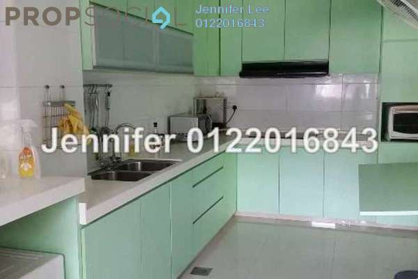 For Rent Terrace at Kota Kemuning Hills, Kota Kemuning Freehold Semi Furnished 4R/3B 1.5k