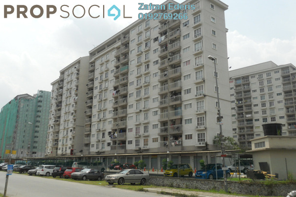 For Sale Apartment at Cahaya Permai, Bandar Putra Permai Leasehold Unfurnished 3R/2B 315k