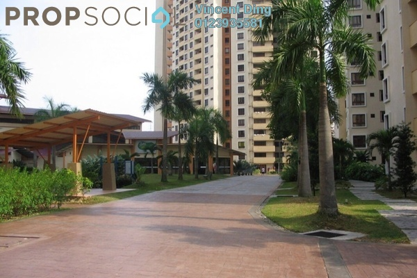 For Sale Condominium at Palm Spring, Kota Damansara Leasehold Semi Furnished 3R/2B 470k