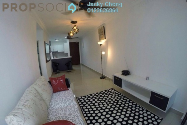 For Rent Apartment at Alam Sanjung, Shah Alam Freehold Fully Furnished 3R/2B 2.3k