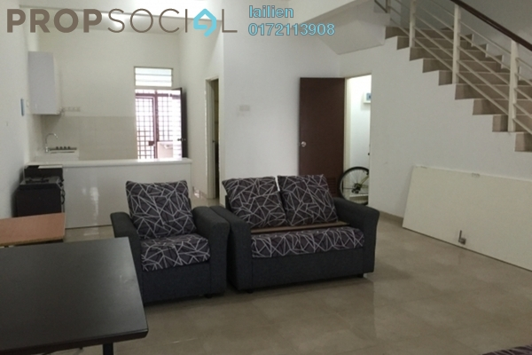 For Sale Terrace at Nusa Sentral, Iskandar Puteri (Nusajaya) Freehold Semi Furnished 4R/3B 550k