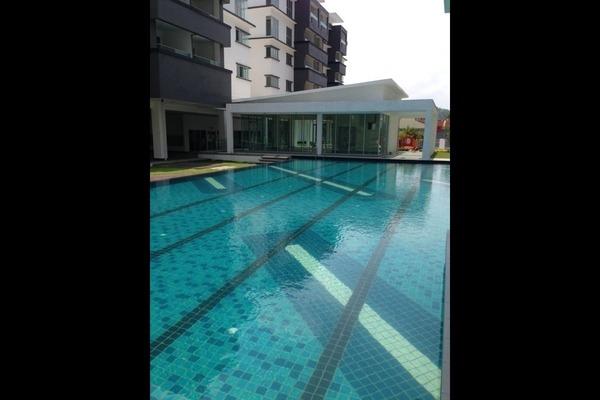 For Rent Condominium at Tiara ParkHomes, Kajang Freehold Semi Furnished 3R/2B 1k